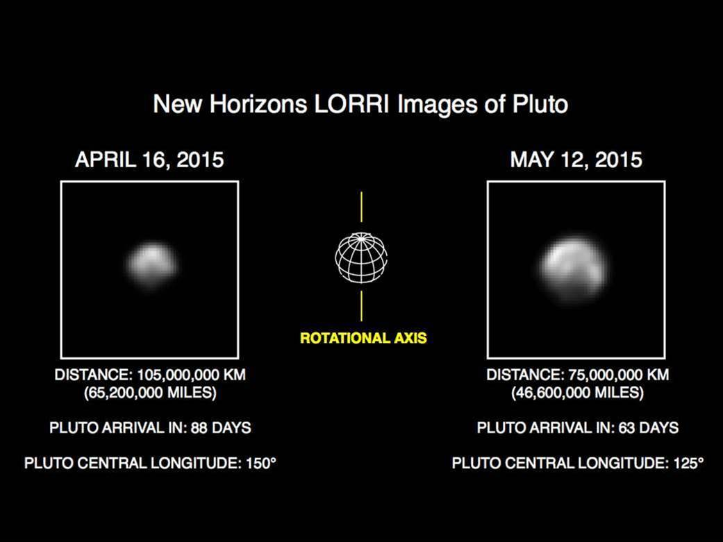 Pluto's Surface Features Are Coming Into View