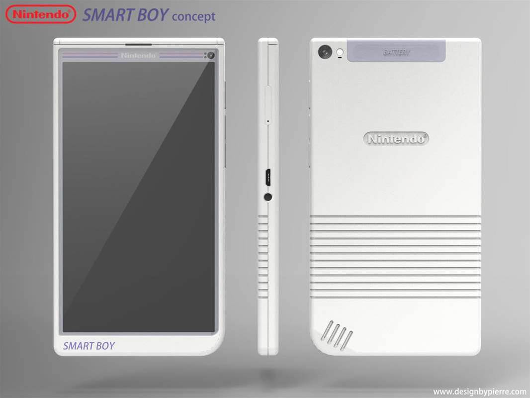 Someone please make this Nintendo smartphone concept a reality