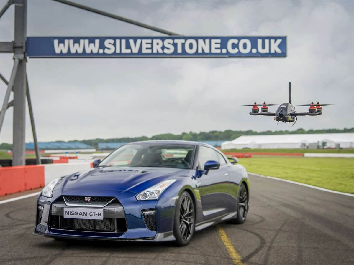 Scorching Nissan GT-R Drone does 0-62mph in 1.3 seconds