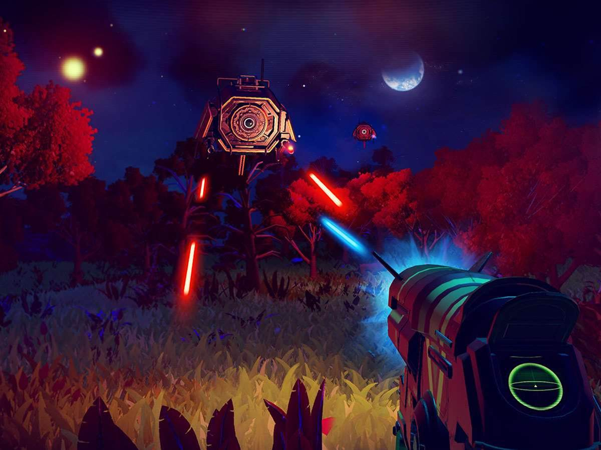 No Man's Sky footage reveals more of this compelling game
