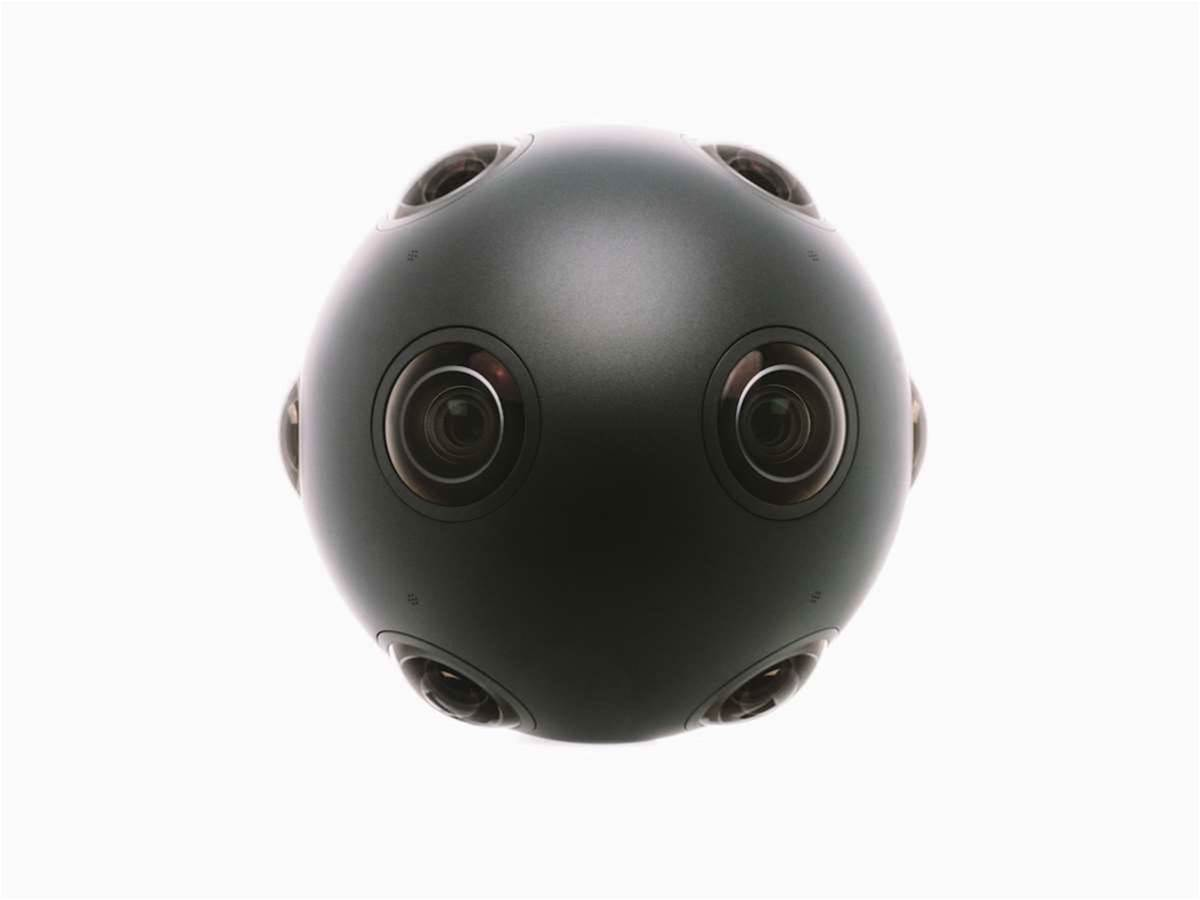 Nokia's VR hardware is OZO, but it's not a headset