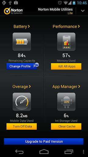 Norton Mobile Utilities for Android hits version 2, gains a premium version
