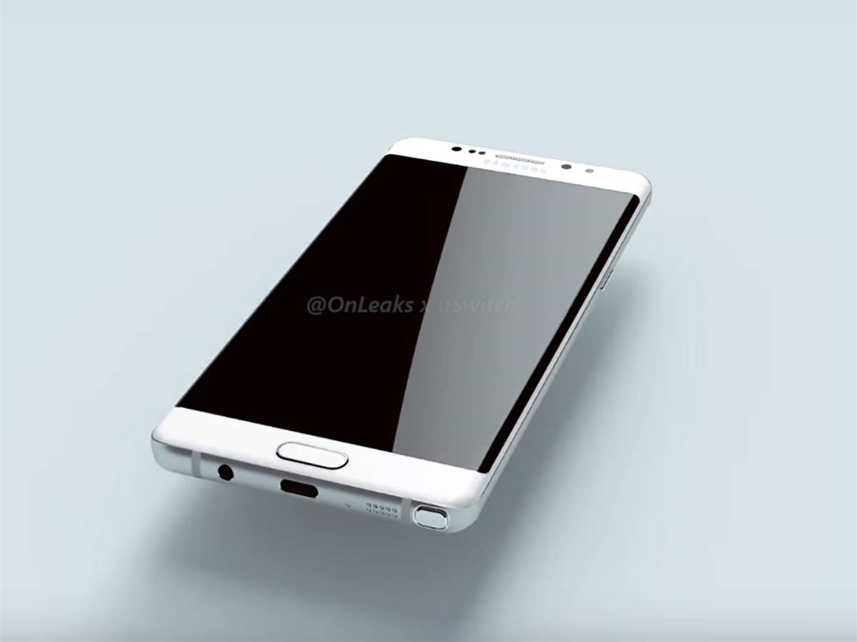 Note 6? Note 7? Samsung's next Galaxy is looking slick in these leaked renders