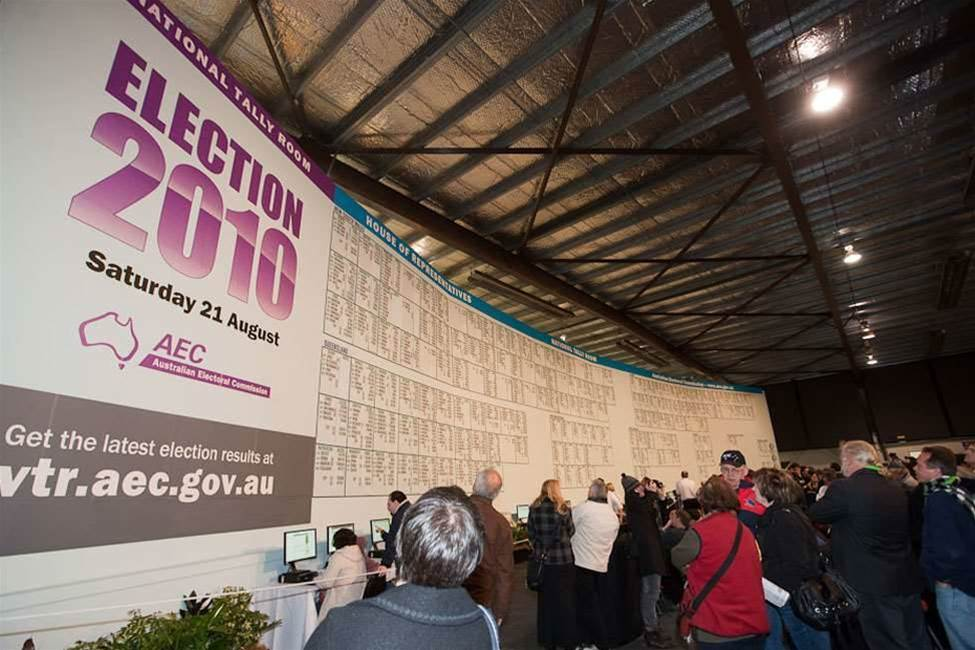 National Tally Room succumbs to internet age