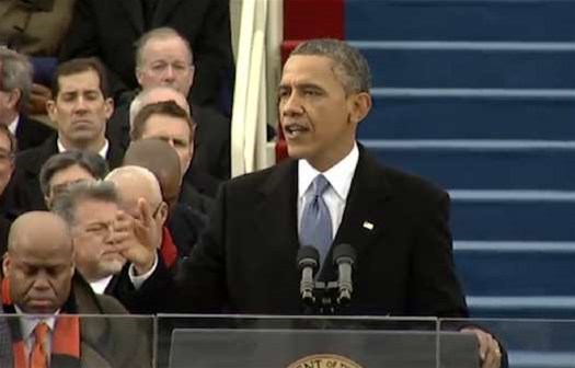 """Obama's Inaugural Address: """"We Will Respond To The Threat Of Climate Change"""""""