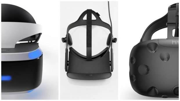 Head-to-head: Oculus Rift vs HTC Vive vs PlayStation VR