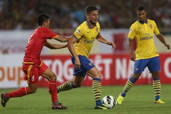 Arsenal thrash Vietnam
