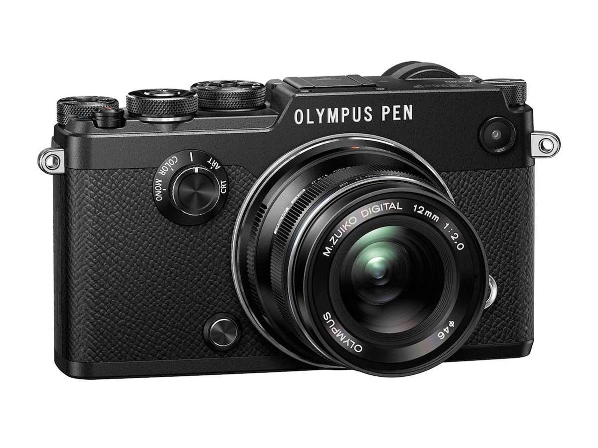 The Olympus PEN-F: classic compact camera design with modern smarts