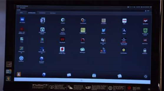 HP reveals Open WebOS