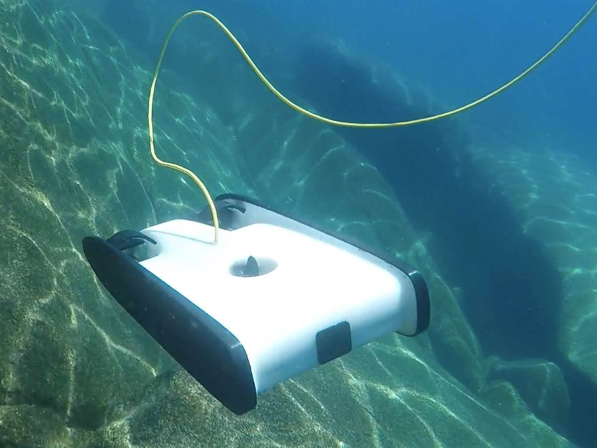 OpenROV's Trident is an underwater drone