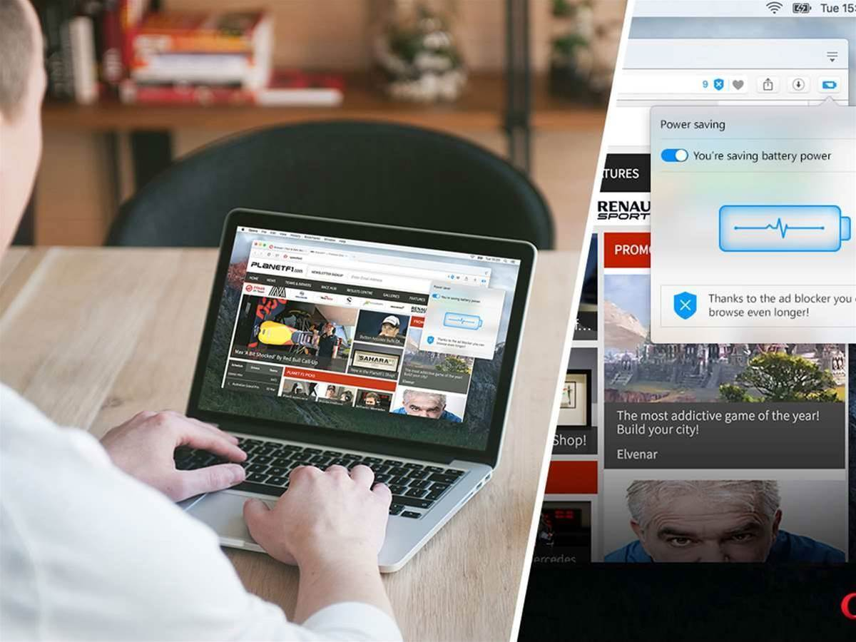 Want your laptop to last longer? Swap your web browser over to Opera