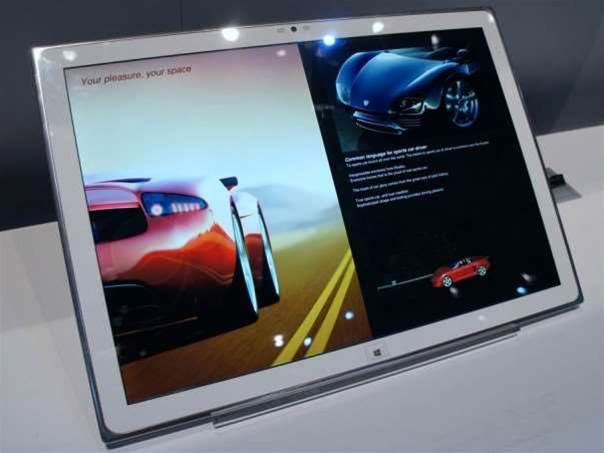 Panasonic to unleash 20in 4K tablet at IFA