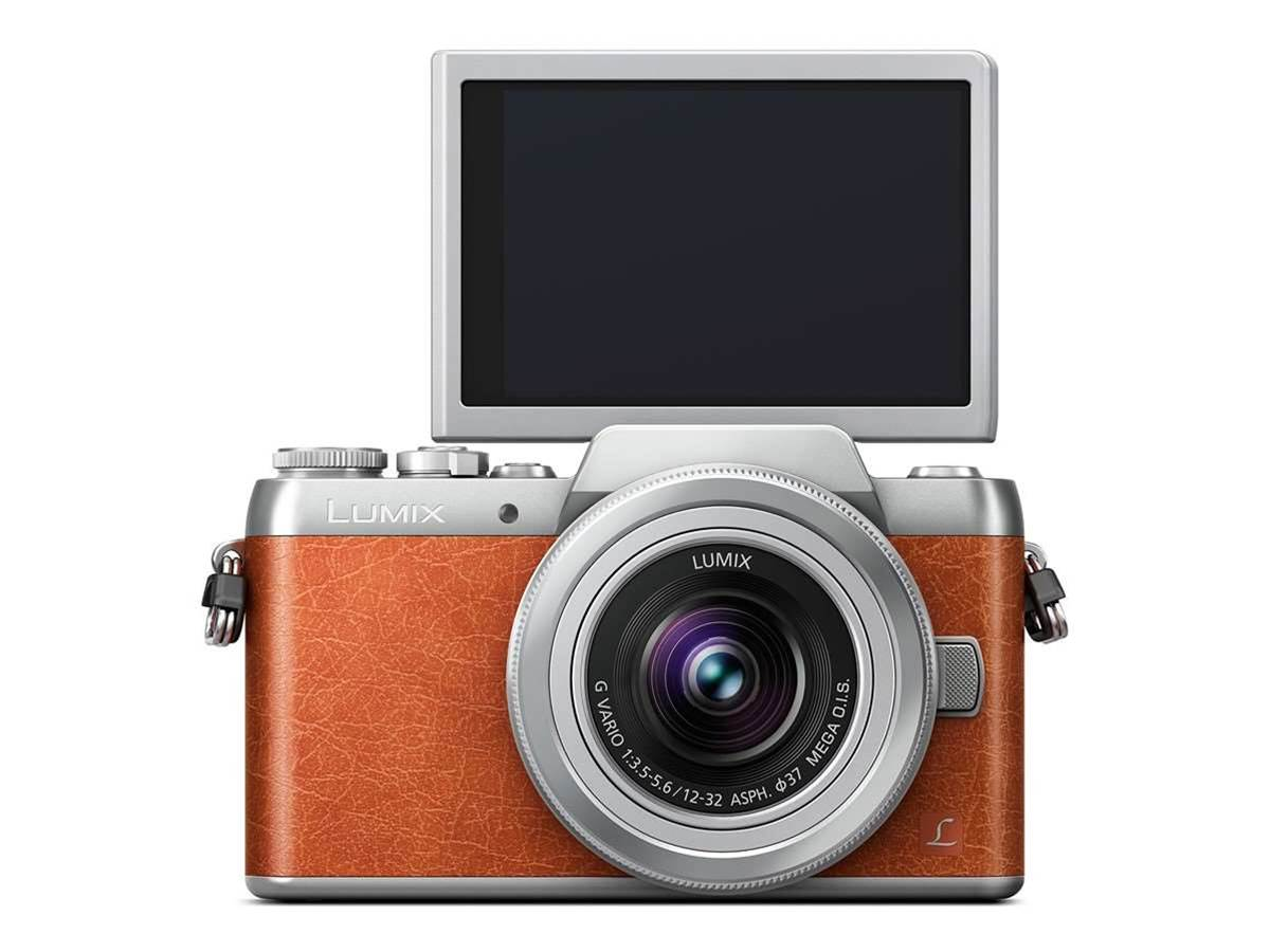 Make your selfie game strong with Panasonic's GF8 CSC