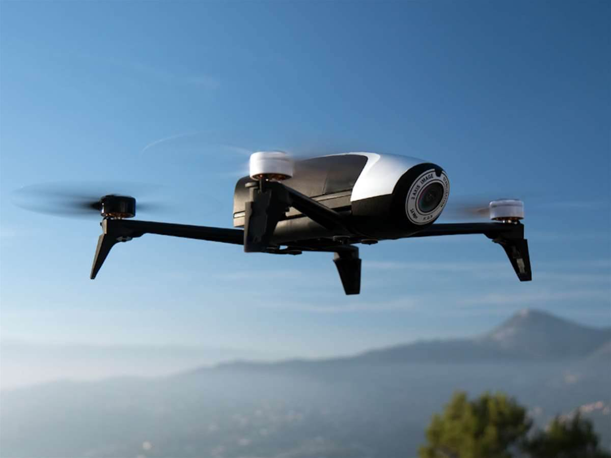 Parrot's Bebop 2 drone goes faster, lasts longer