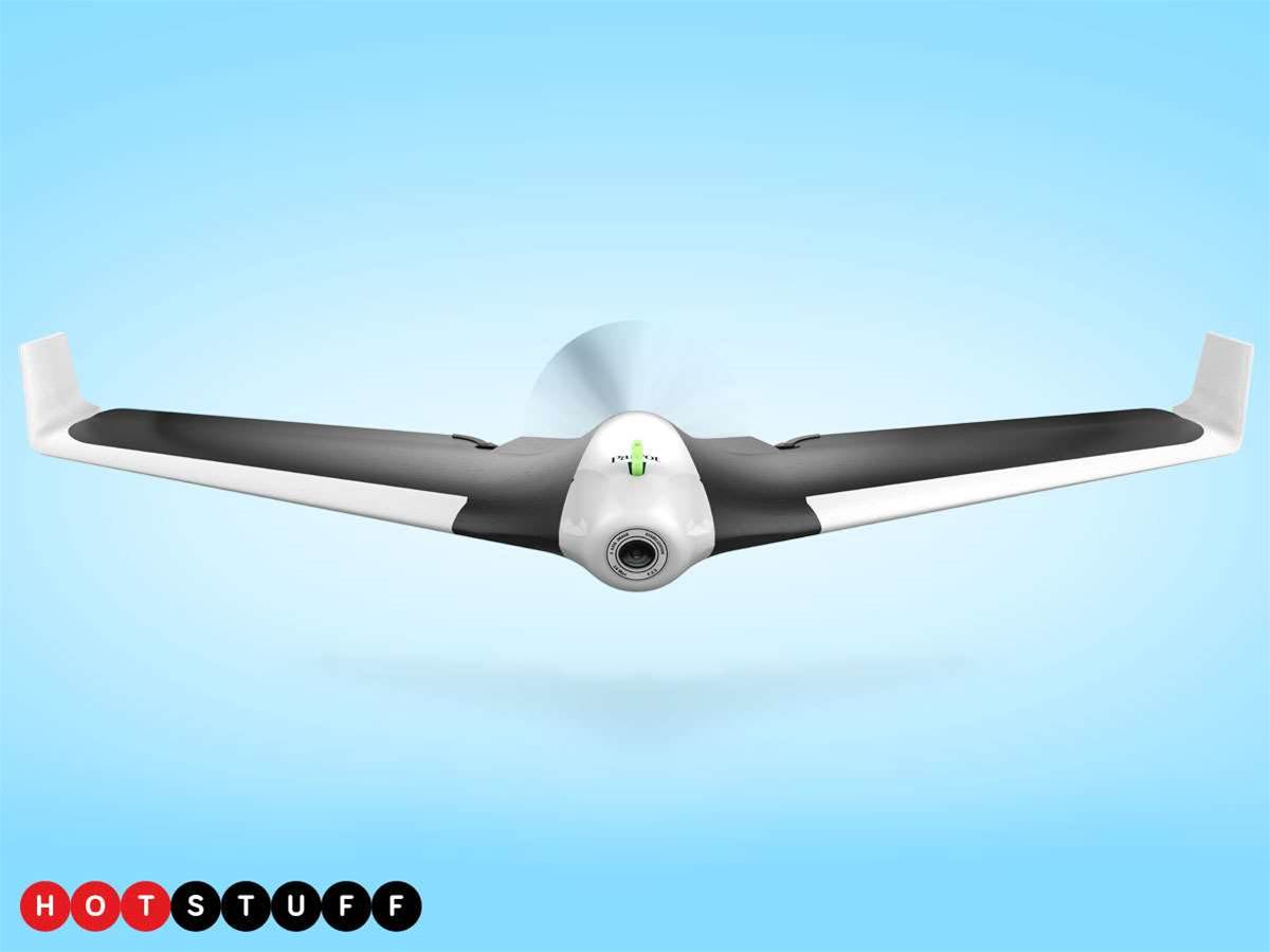 You'll believe you can fly with Parrot's Disco drone