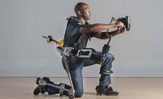 Passive Exoskeleton Makes Handling Heavy Tools Easy