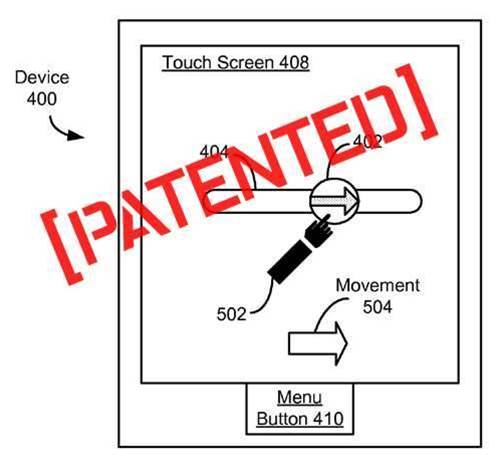 Apple Owns Patent On 'Unlocking Touchscreen Phone', Provides Helpful Diagrams