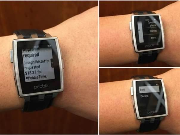 Pebble adds support for Android Wear notifications