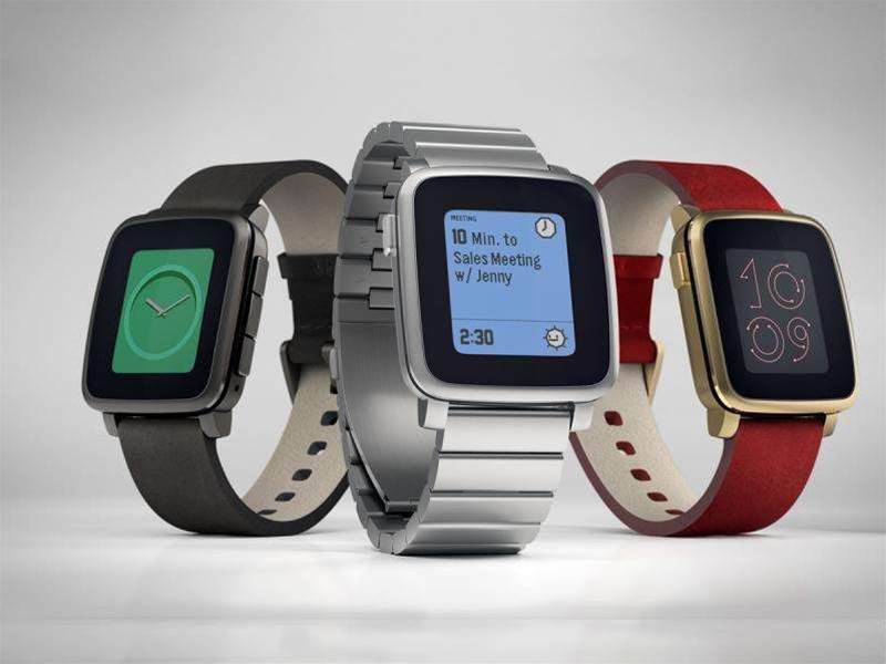 Pebble announces new Pebble Time Steel