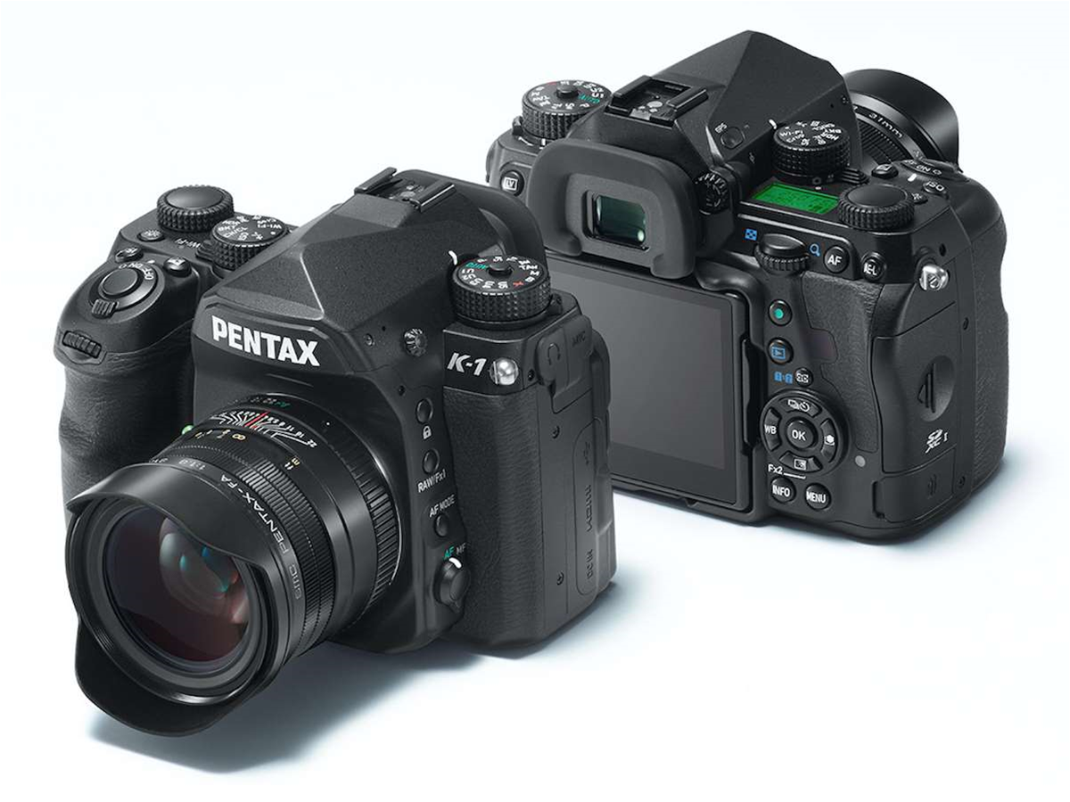 The Pentax K-1 is the line's first full-frame DSLR camera