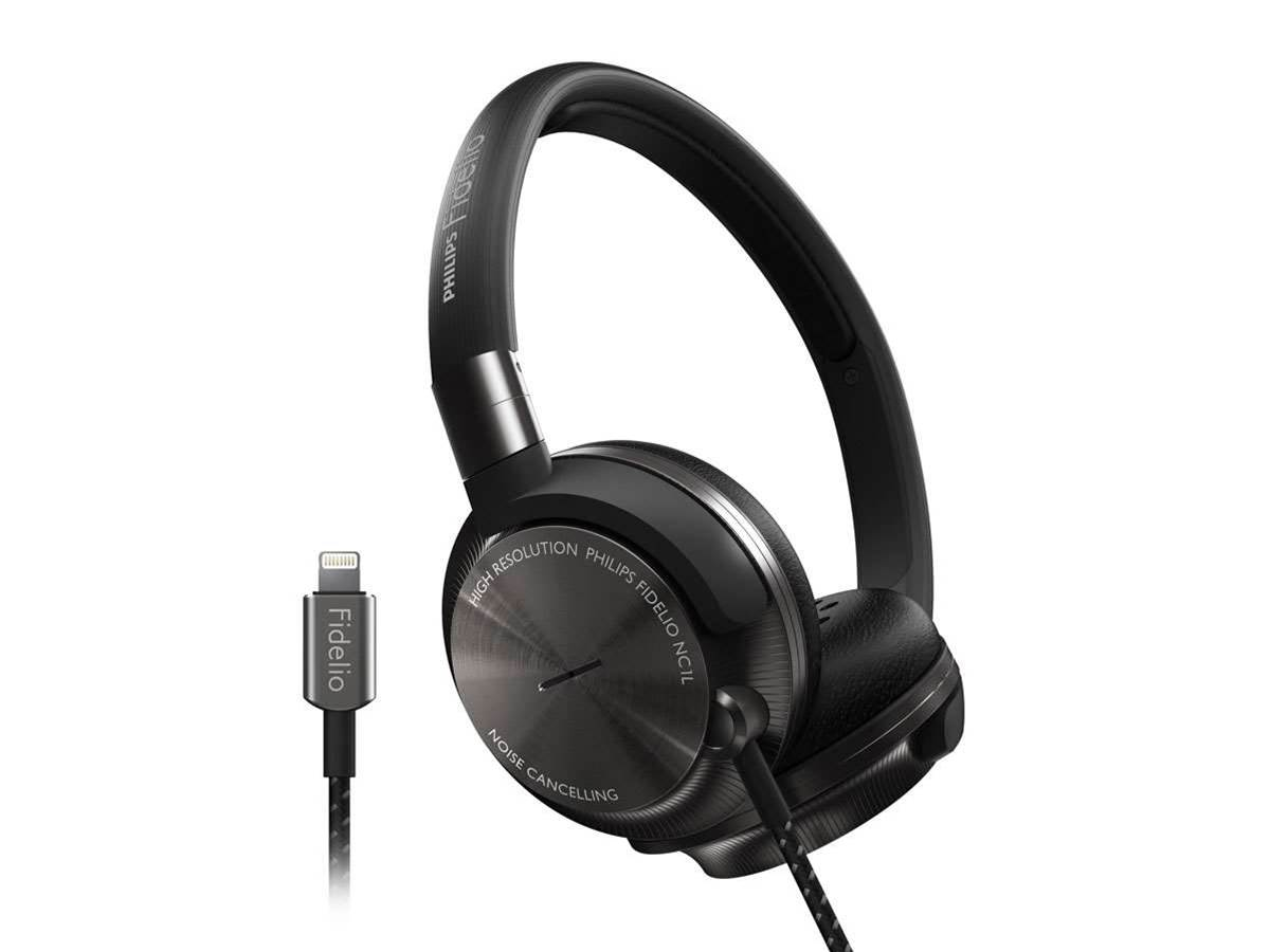Philips new Lightning-compatible noise-cancelling headphones don't need no stinkin' battery
