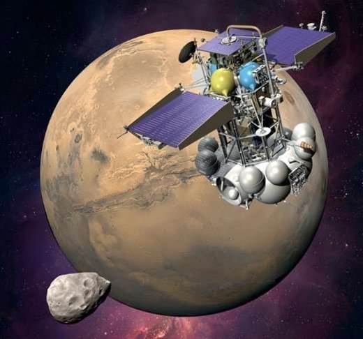 Lost Mars Probe Briefly Phones Home, But the Window to Save the Phobos-Grunt Mission is Closing