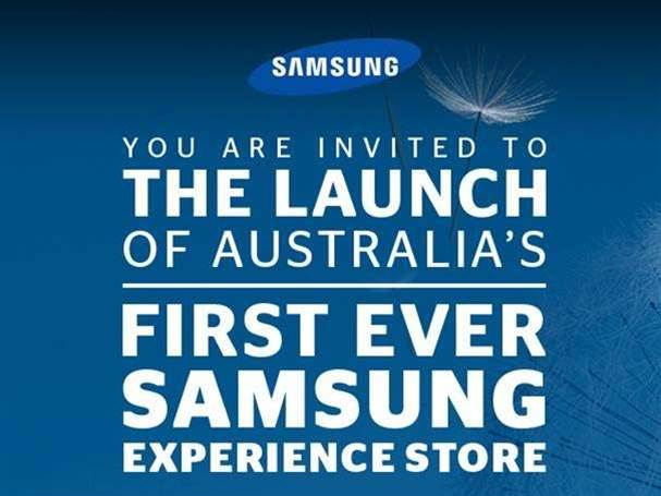 Samsung to open Sydney store next week
