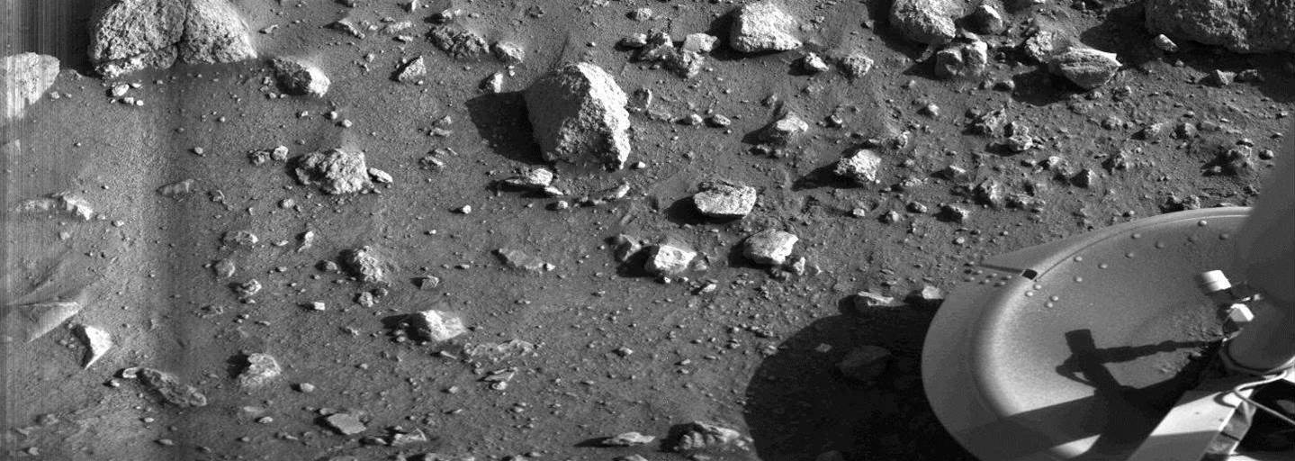This is What It Looked Like the First Time we Saw Mars