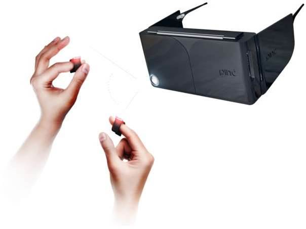 Turns your iPhone 6 into a Minority Report-style interface with Pinc VR