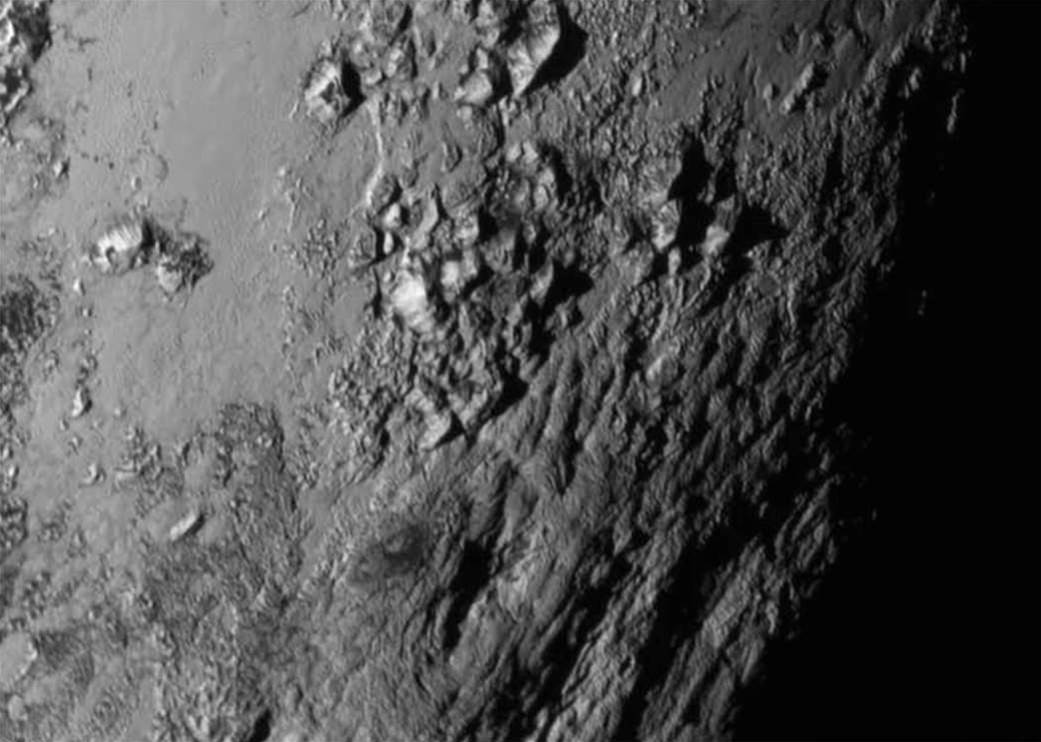 Pluto Has Young, Icy, Mountains On Its Surface