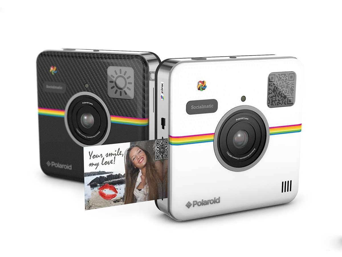 Polaroid's Socialmatic instant camera has Android super powers