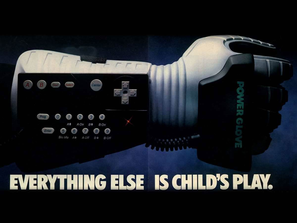 Sony may reimagine the Power Glove for PlayStation VR