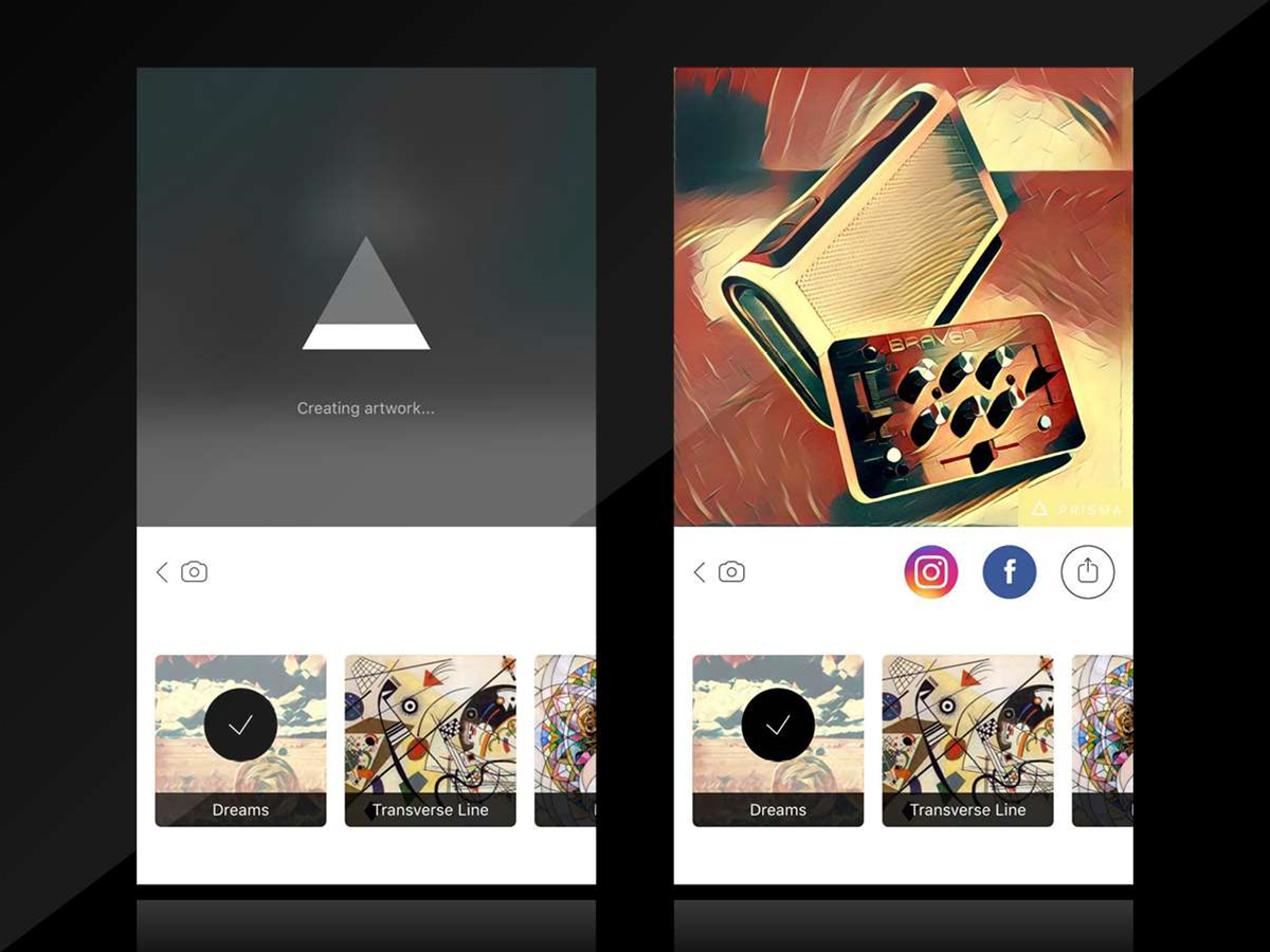 Drop everything and download: Prisma