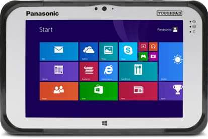 Panasonic's Toughpad FZ-M1 reviewed