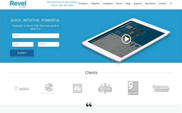 QuickBooks now has an iPad POS system