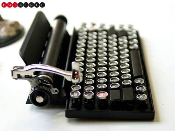 Qwerkywriter is a typewriter for your notebook and tablet