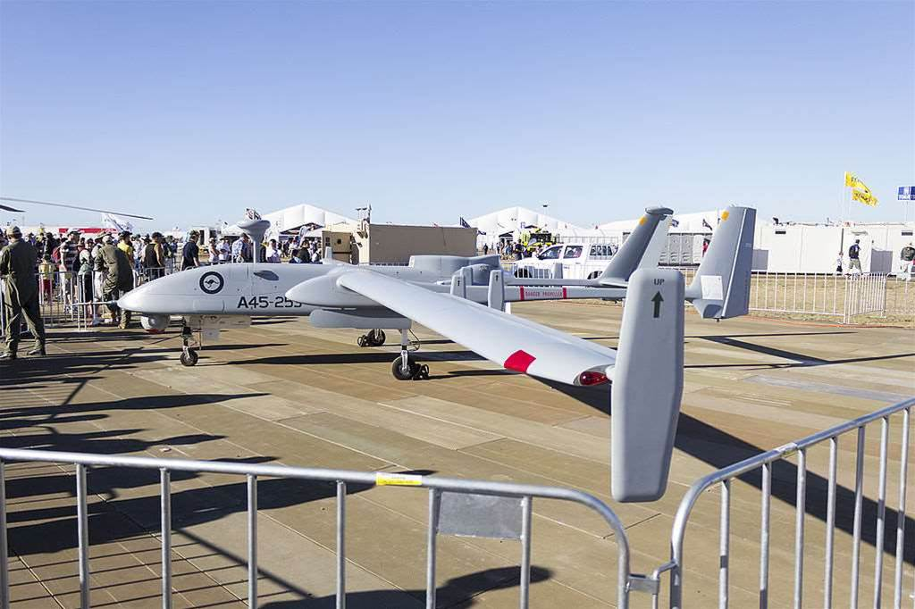 Australia Lets A Military Drone Fly Free On The Coast