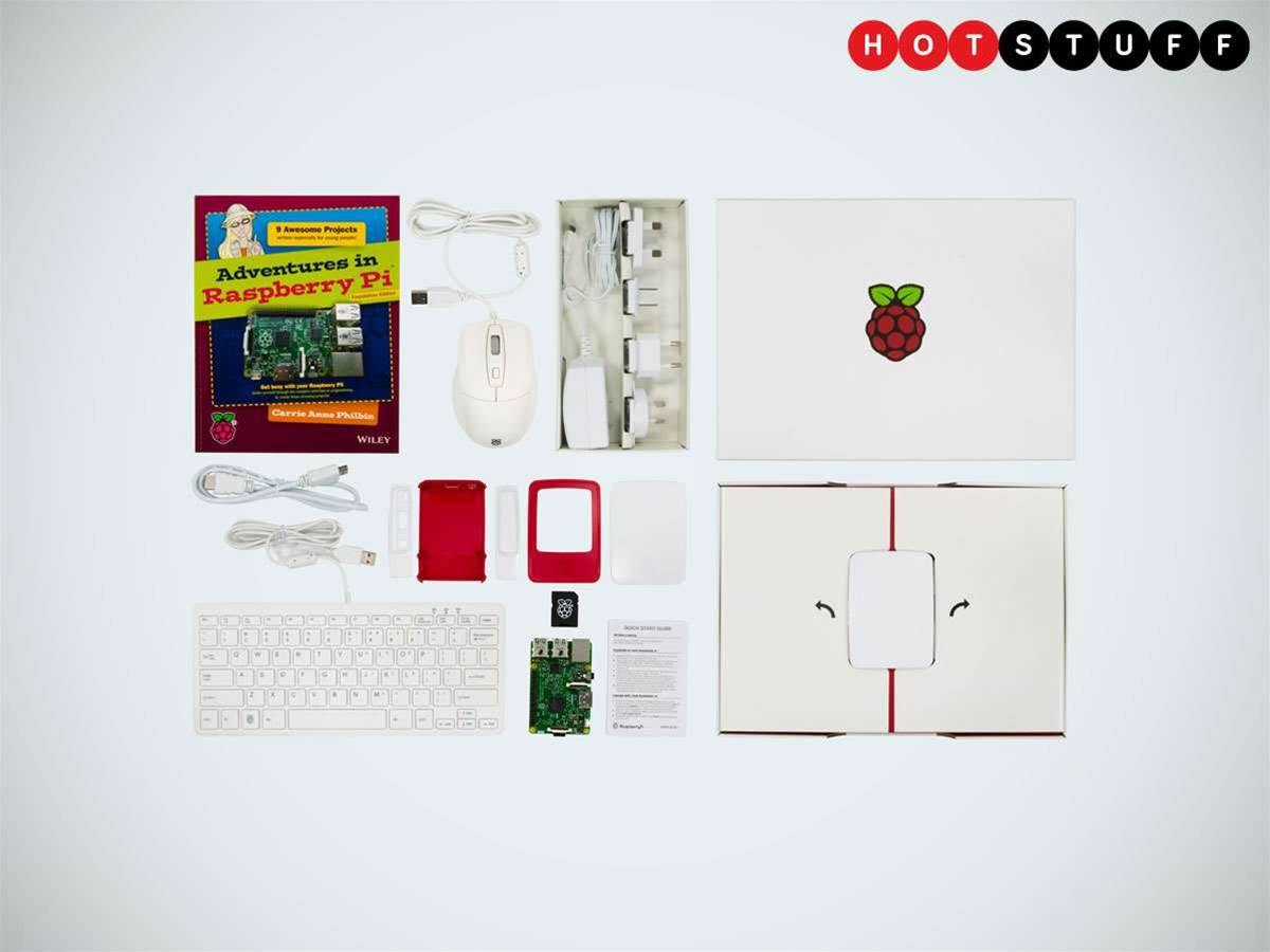 Official Raspberry Pi kit puts everything you need to start coding in one box