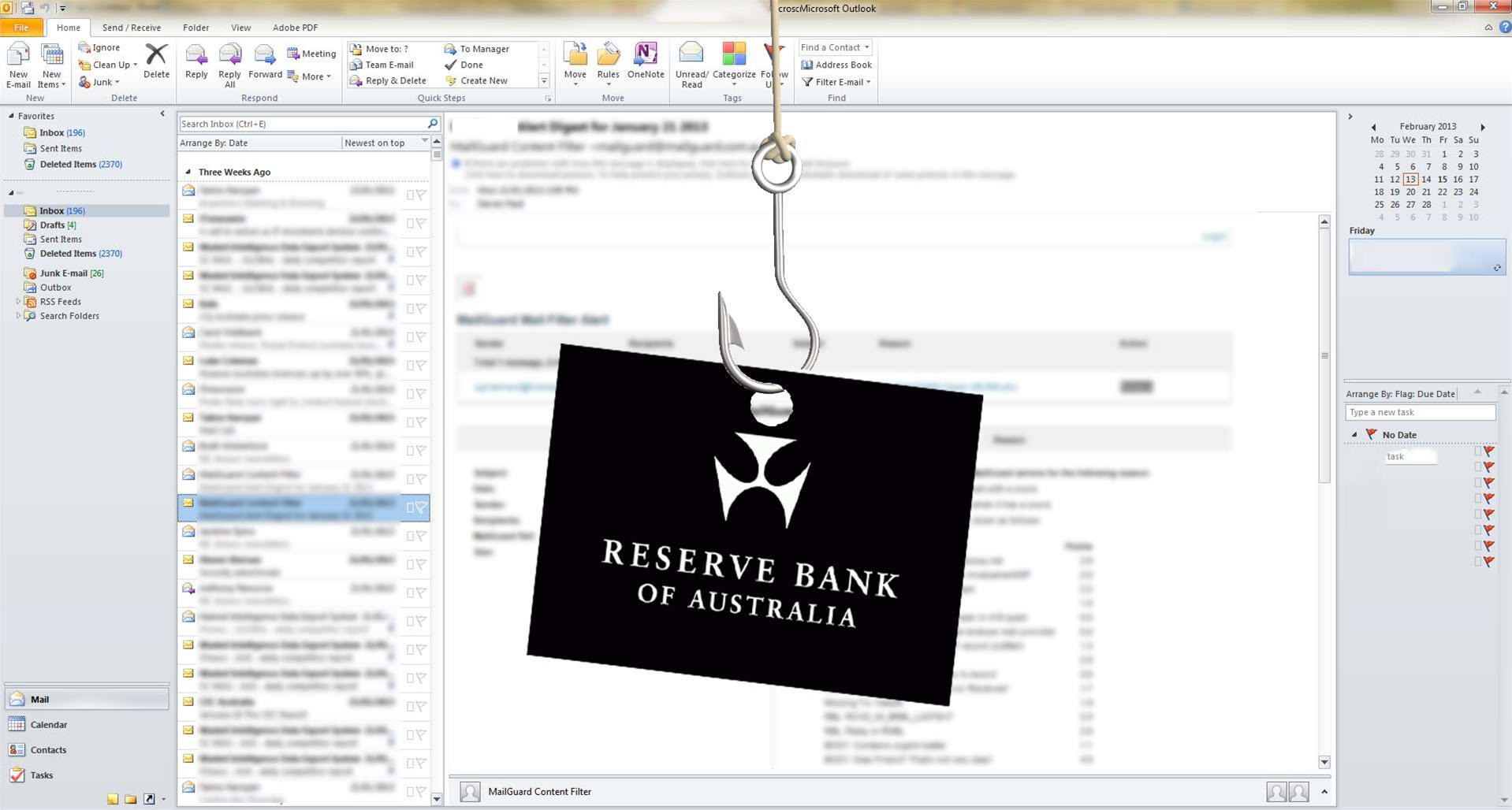 Chinese hackers infiltrated Reserve Bank