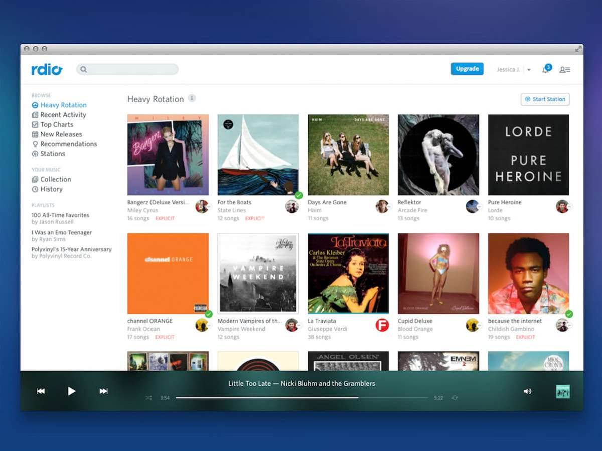 Streaming service Rdio is shutting down