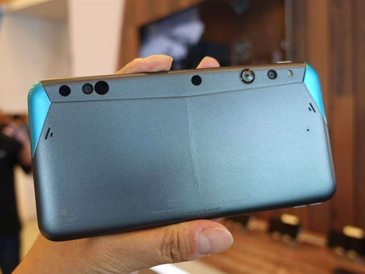 3D RealSense included in Google's Project Tango smartphones