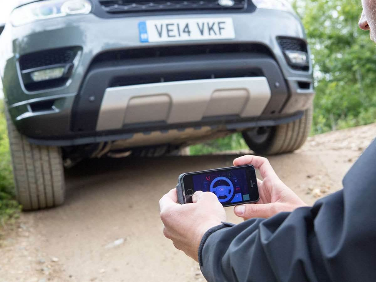 Want to remotely control your Range Rover? There's an app for that