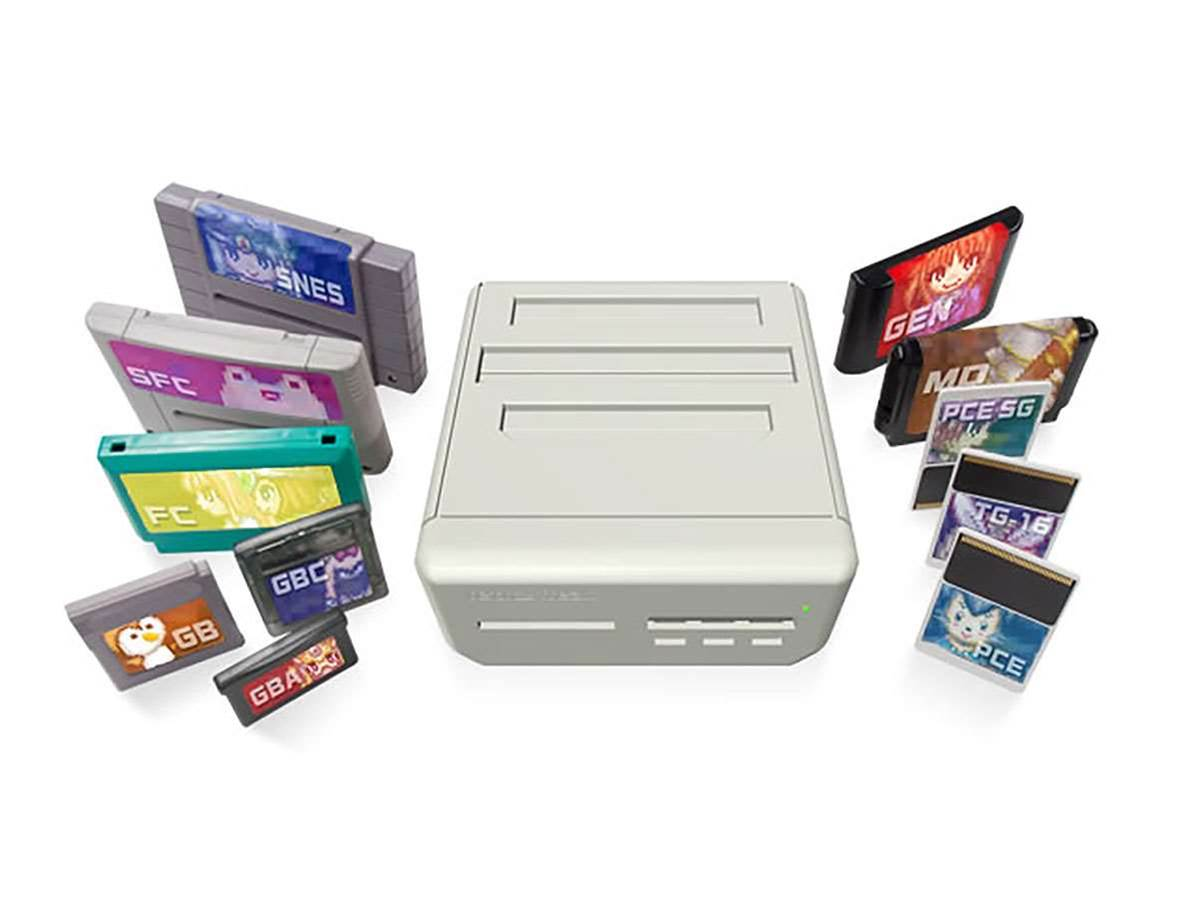 Retro Freak will play Mega Drive, SNES, Game Boy and TurboGrafx games