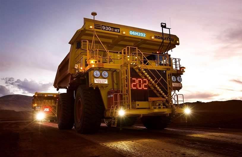 Rio Tinto's autonomous trucks