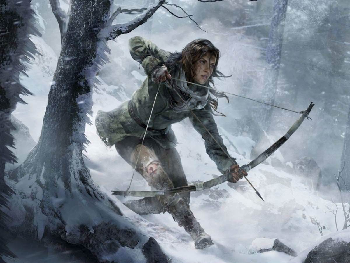 You'll have to wait a whole year to play Rise of the Tomb Raider on PS4