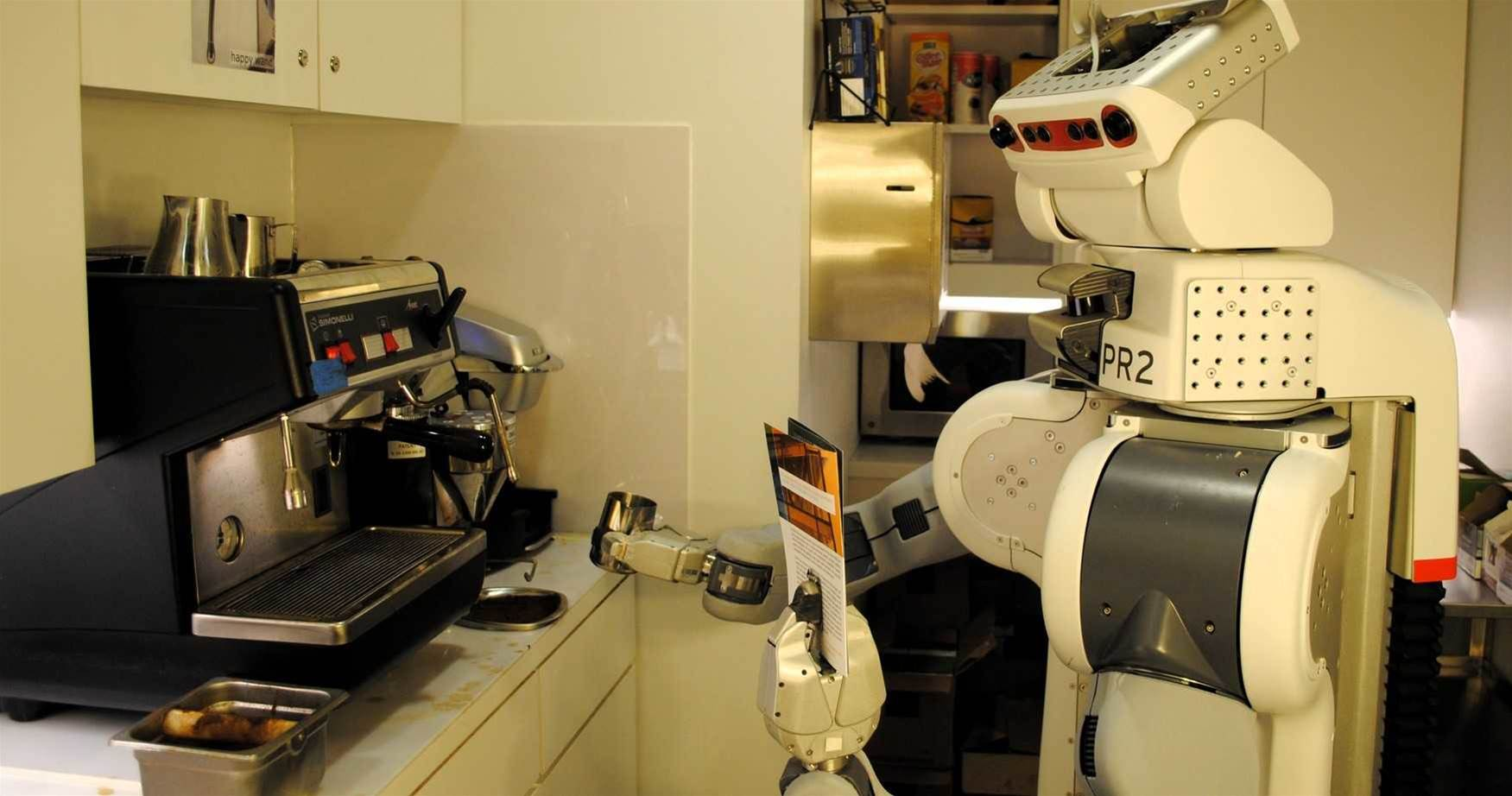 Robobarista Can Learn How To Operate Your Coffee Machine