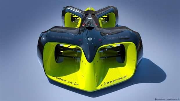 Roborace will feature autonomous all-electric racing cars