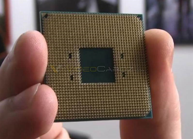 First pics of AMD's new Ryzen chip emerge