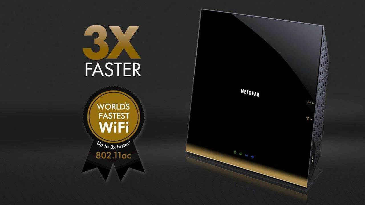 Netgear R6300 WiFi router triples the speed of Wireless N