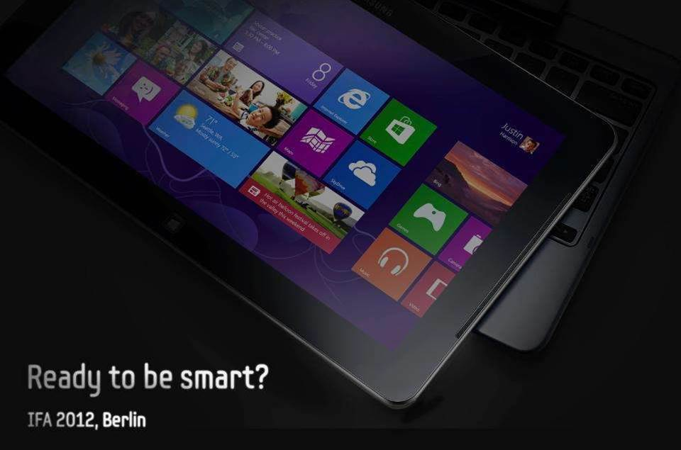 Samsung teases Windows 8 tablet